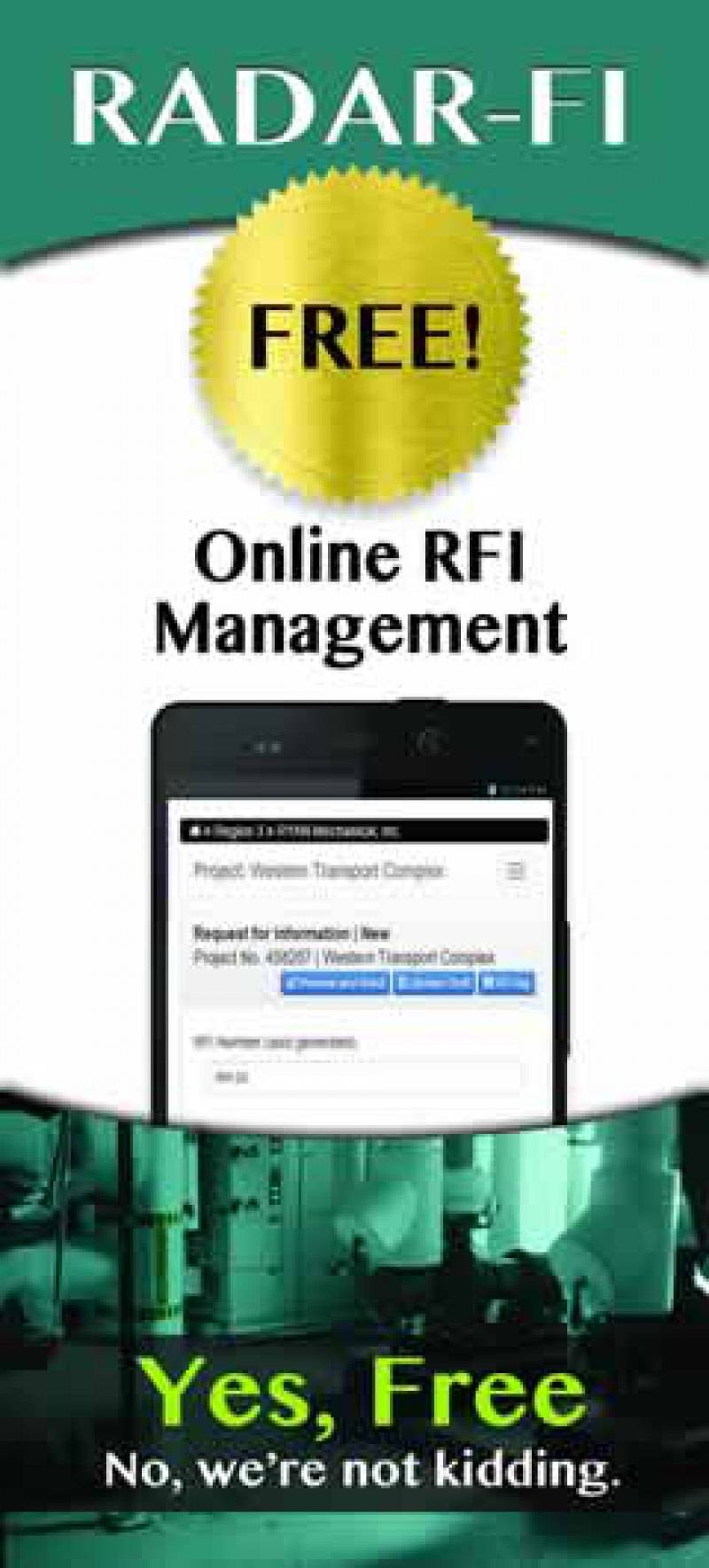 RADAR-FI Online RFI Management